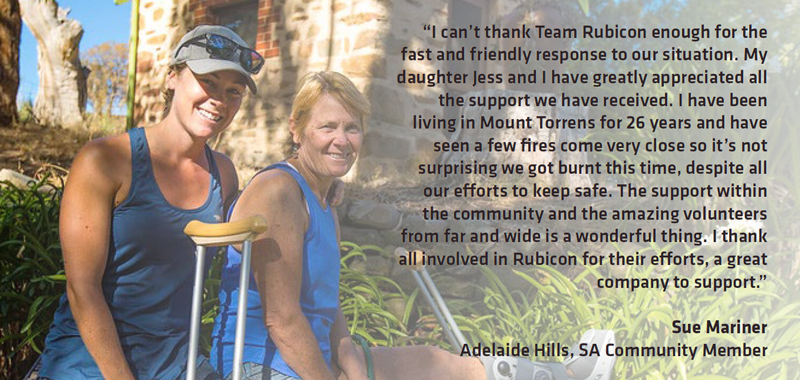adelaide hills bushfire testimonial