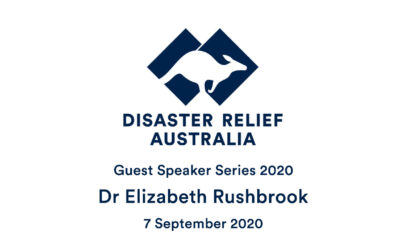 DRA Guest Speaker Series with Dr Elizabeth Rushbrook