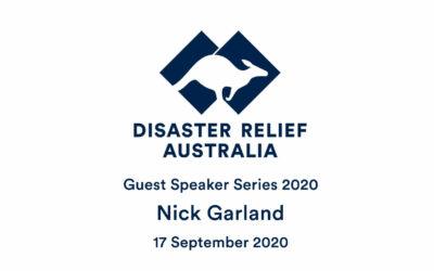 DRA Guest Speaker Series with Maj (Retd) Nick Garland