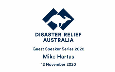 DRA Guest Speaker Series 2020 with Mike Hartas