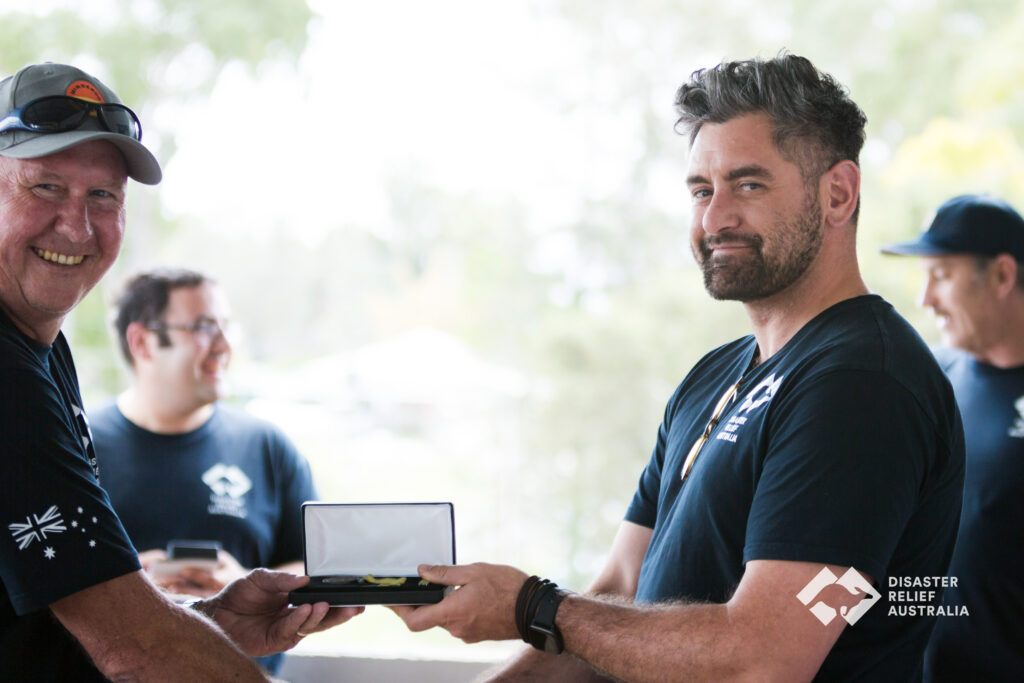 Disaster Relief Australia's Members awarded the National Emergency Medal 6