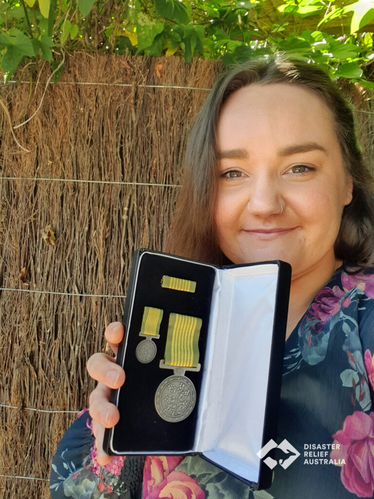 Disaster Relief Australia's Members awarded the National Emergency Medal 8