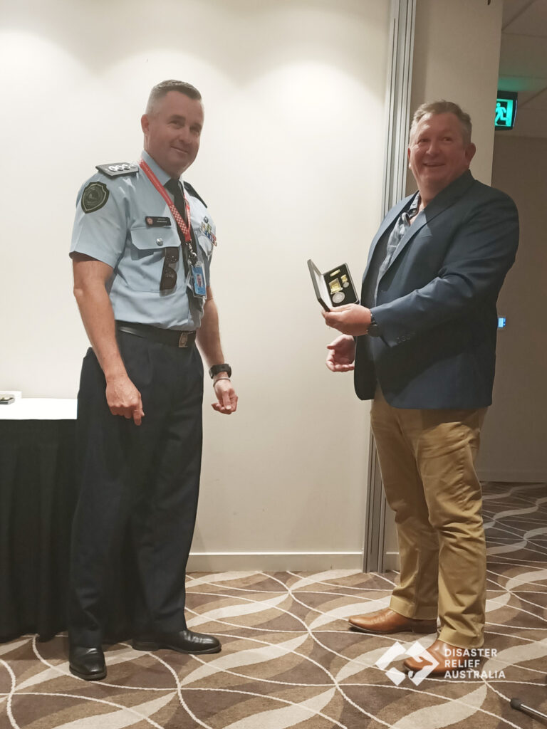 Disaster Relief Australia's Members awarded the National Emergency Medal 11