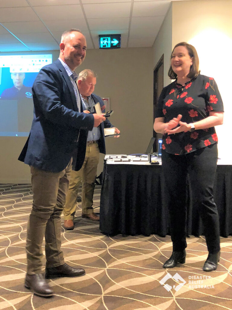 Disaster Relief Australia's Members awarded the National Emergency Medal 13