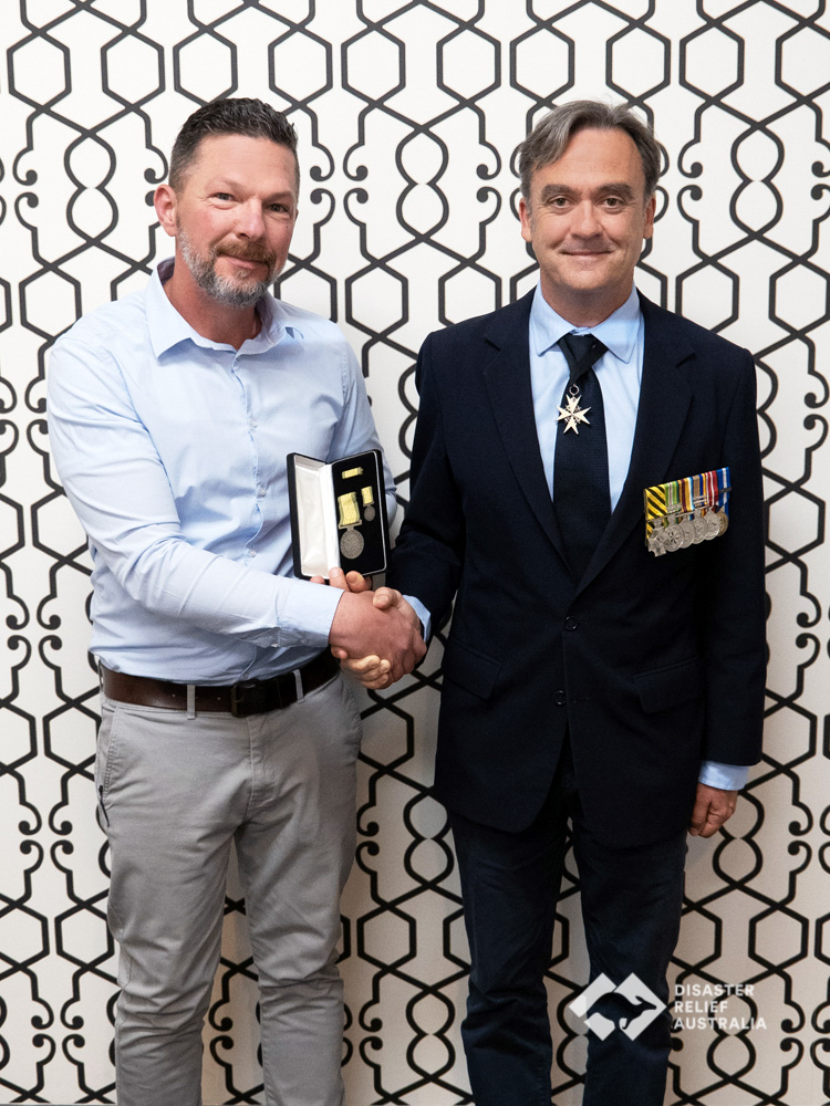Disaster Relief Australia's Members awarded the National Emergency Medal 4