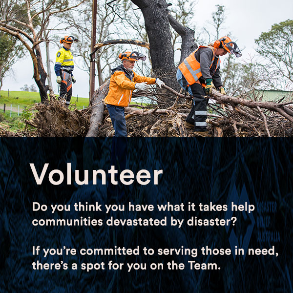 disaster relief volunteer
