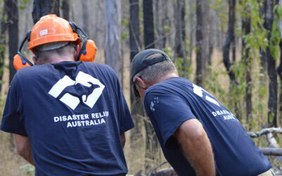 A partnership forged in fire: Disaster Relief Australia and Minderoo Foundation join forces