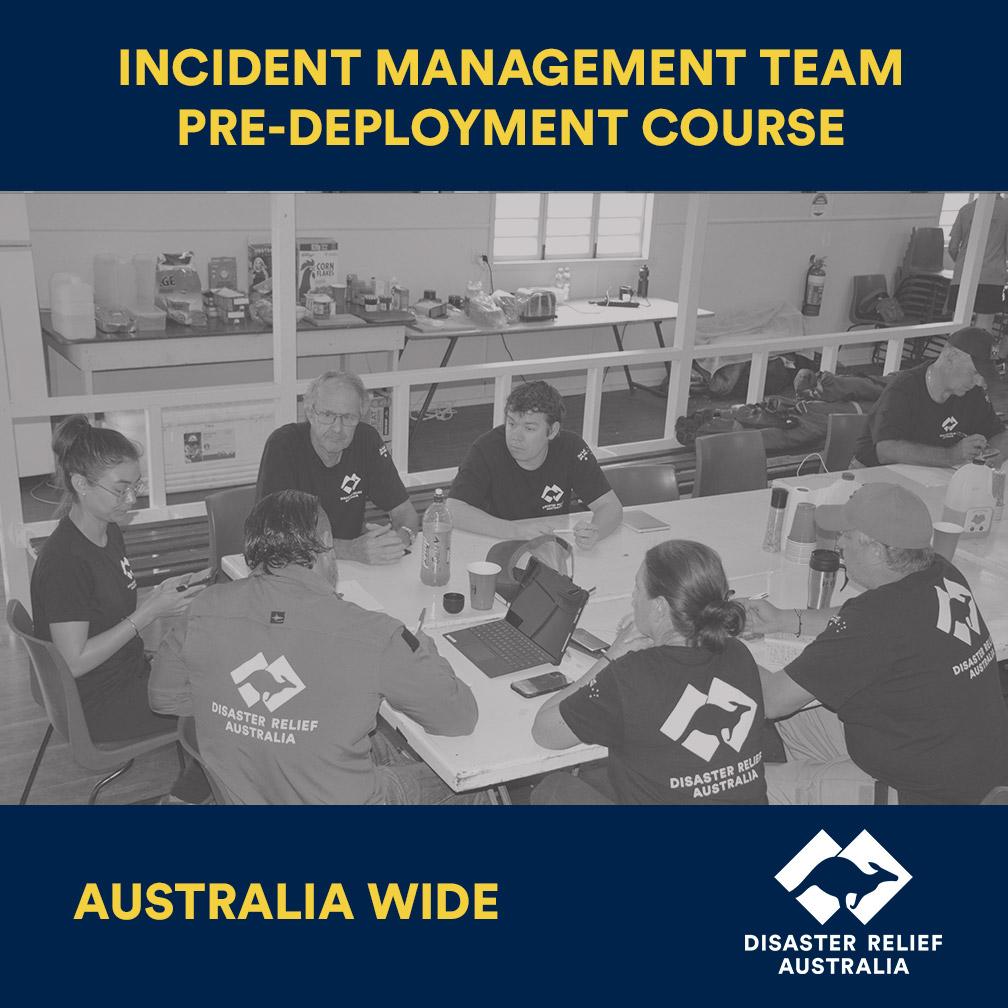 Incident Management Team Pre-Deployment Course