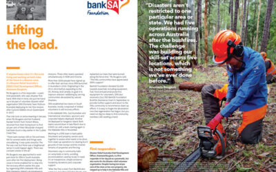 DRA featured in BankSA Focus Magazine