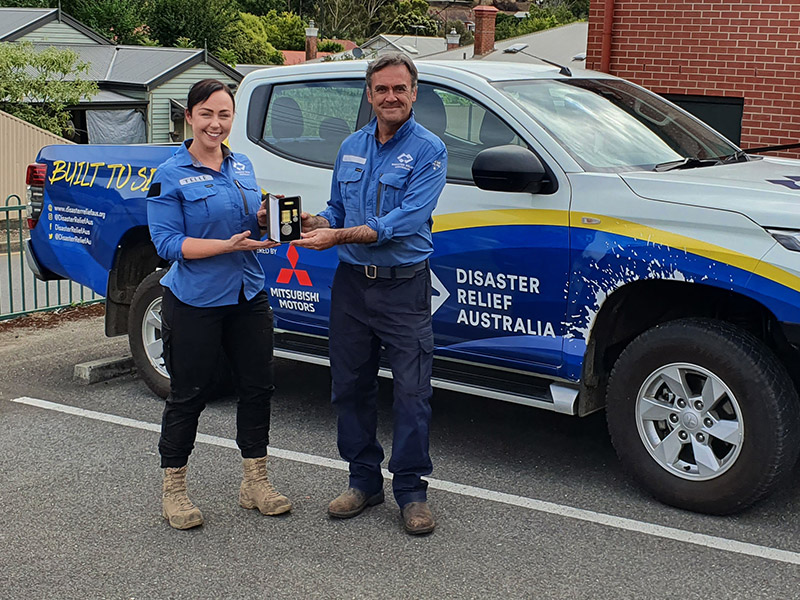 Disaster Relief Australia's Members awarded the National Emergency Medal 3