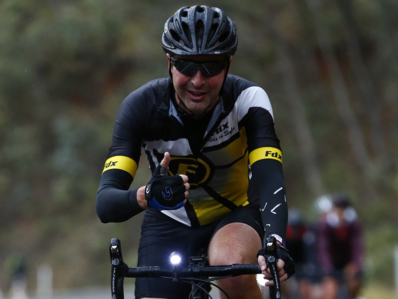 Jacobs cyclist riding for DRA at RoadNats 2