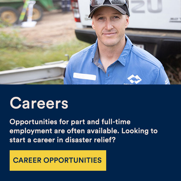 careers in disaster relief