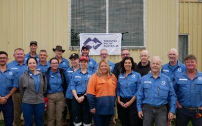 Port Macquarie-Hastings Mayor Pinson Volunteers for Flood Recovery