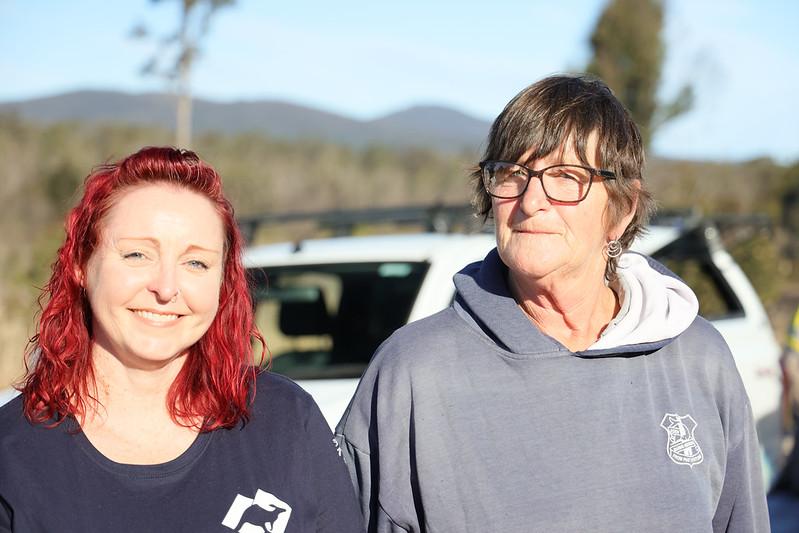 bushfire impacted owner judy