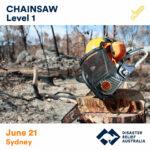 chainsaw training sydney