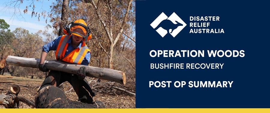 operation woods post op summary