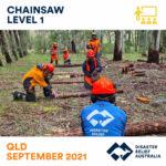 Chainsaw lvl 1 Course EOI and Skills Maintenance - Brisbane DRT 1
