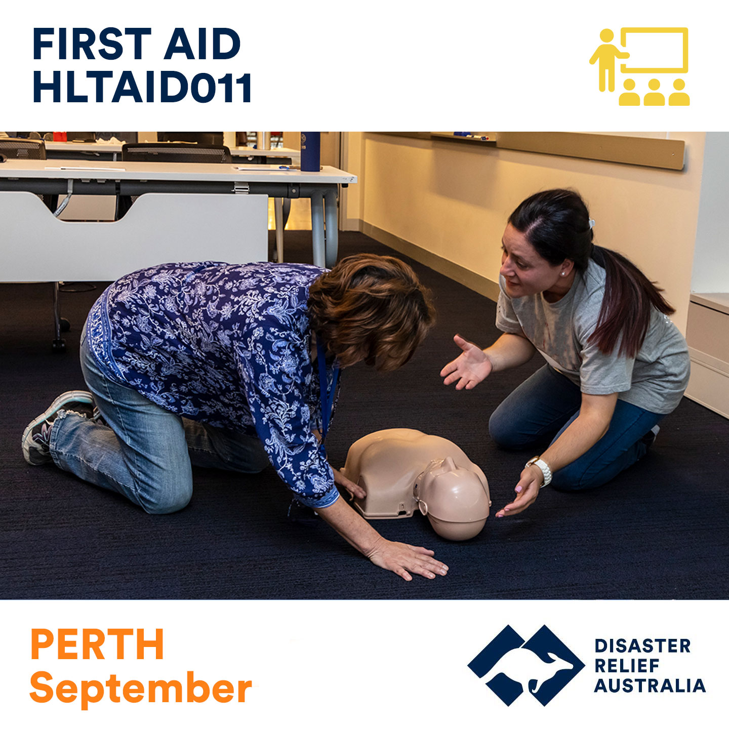 perth first aid course
